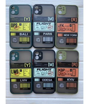 Кейси iPhone XR Matte Skin Ticket series