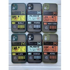 Кейси iPhone 11 Matte Skin Ticket series