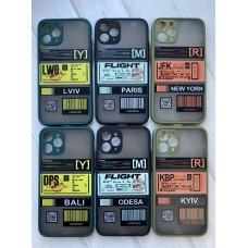 Кейси iPhone 11 Pro Max Matte Skin Ticket series