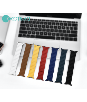 Аксесуари iWatch Ремінець COTEetCi Leather Dual Magnetic Watch Band 42/44mm