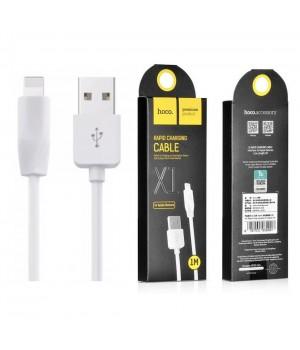 Кабелі Lightning X1 Rapid Charging Cable Apple 2m white