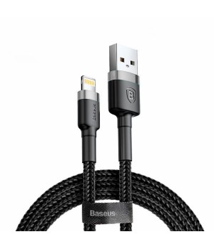 Кабелі Baseus Lightning Back Carbo Cable 1.2m