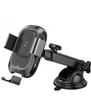 Автотримач Baseus Smart Vehicle Bracket Wireless Charger