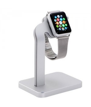 Кабелі COTEetCI Aluninum iWatch Stand (TS) sillver