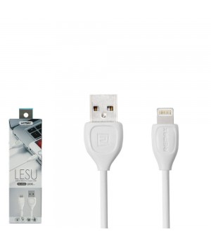 Кабелі Remax Lesu Data Cable for Micro white