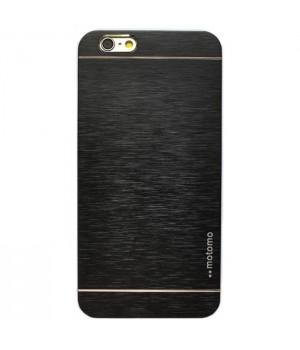 Кейси iPhone 5/5S/SE Motomo в Коробці Металевий чорний
