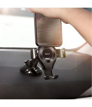 Автотримач Baseus Gravity Car Mount Metal Wireless Charger