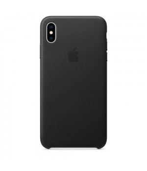 Кейси iPhone XS Max Apple Leather Case HQ