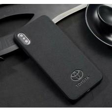 Кейси iPhone XS Max Alcantara auto