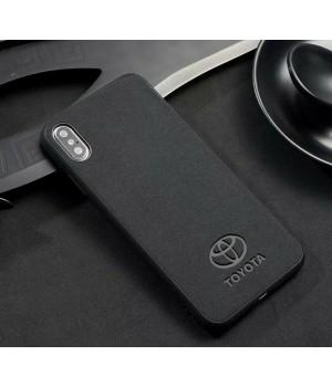 Кейси iPhone 11 Pro Max Alcantara auto