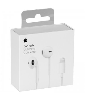 Навушники Apple EarPods Lightning Connector Original