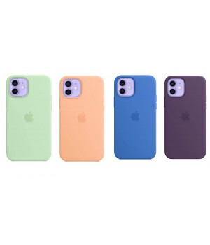 Кейси iPhone 12/12Pro Apple Silicone Case Original with MagSafe
